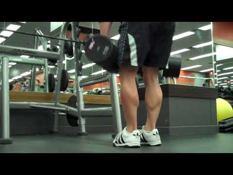 Stiff-Legged Dumbbell Deadlifts
