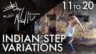 Breakdance Toprock tutorial • 20/100 Indian Step Variations • Bboy MeditRock width=