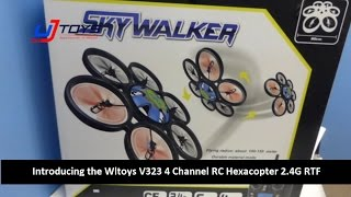 getlinkyoutube.com-UJToys Introducing the Wltoys V323 SkyWalker 4 Channel RC Hexacopter 2.4G RTF