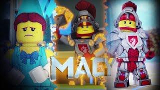 getlinkyoutube.com-Lego NEXO Knights MACY | NOT YOUR TYPICAL PRINCESS | 3D Lego