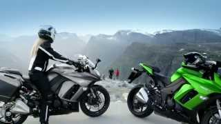 getlinkyoutube.com-The New Kawasaki Z1000SX - Power to move you
