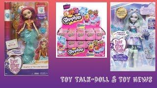 getlinkyoutube.com-Ever After High Epic Winter Crystal Winter Doll, Meeshell Mermaid, Daring Charming | TOY TALK
