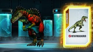 Jurassic World The Game OSTAFRIKASAURUS Nivel 40
