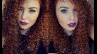 getlinkyoutube.com-Straw Curls on Long hair/ Extensions