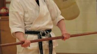 getlinkyoutube.com-Thousand Waves Bo-Jutsu Workshop for Seido Karate Student