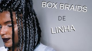 getlinkyoutube.com-BOX BRAIDS de linha trancas chanel