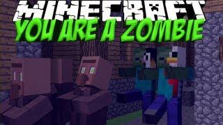getlinkyoutube.com-Zombie Mod: Minecraft You Are A Zombie Mod Showcase!