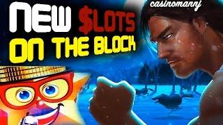 getlinkyoutube.com-NEW SLOTS ON THE BLOCK - New Slot Machines - Big Win - Slot Machine Bonus