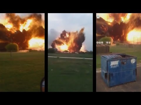 Fertilizer Plant Explosion - All 3 Angles