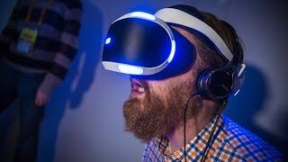 getlinkyoutube.com-Hands-On: Sony's New 'Project Morpheus' Prototype VR Headset + Demo