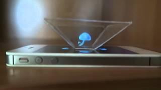 getlinkyoutube.com-Как сделать 3D голограмму для смартфона / How to make a 3D hologram smartphone