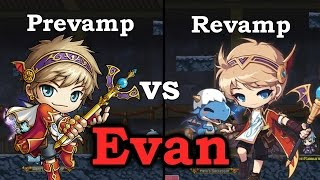 Pre/Post Revamp Evan vs Madman Ranmaru