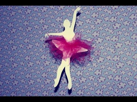 DlY: Decorando o quarto com Bailarinas de papel I