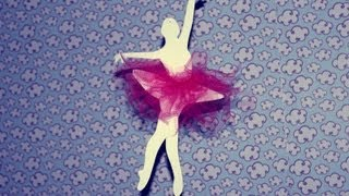 getlinkyoutube.com-DlY: Decorando o quarto com Bailarinas de papel I