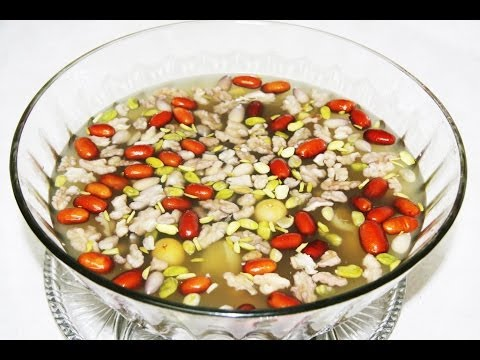 Haft Mewa (Dried Fruit Compote) -  Afghan New Year Recipe
