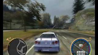 Nissan Skyline  NFS Most Wanted