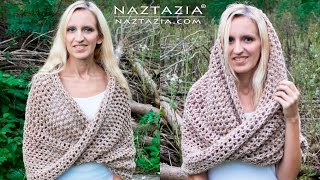 getlinkyoutube.com-DIY Tutorial - How to Crochet Mobius Twist Shawl and Hooded Cowl - Moebius Wrap