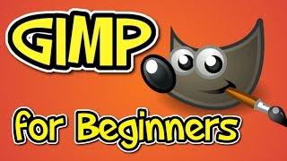 GIMP tutorial for BEGINNERS!!!