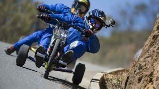 getlinkyoutube.com-High Speed Downhill Trike Racing