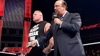 Triple H escoge a Brock Lesnar como plan C