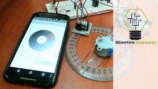getlinkyoutube.com-Arduino projects + Stepper motor + Mobile App  / Motor paso a paso + Aplicacion Movil