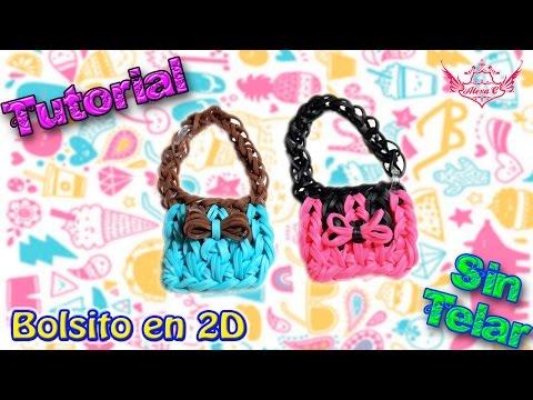 ♥ Tutorial: Bolsito en 2D de gomitas (sin telar) ♥