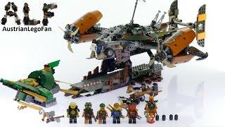 getlinkyoutube.com-Lego Ninjago 70605 Misfortune´s Keep - Lego Speed Build Review