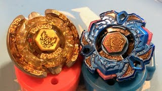 getlinkyoutube.com-BATTLE: Variares D:D Blue Phantom Ver. VS Beat Lynx TH170WD - Beyblade Metal Fight 4D