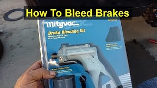 getlinkyoutube.com-How to use a vacuum pump to bleed your brake system. - VOTD