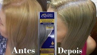 getlinkyoutube.com-Tonalizante Color Express - Como tirar Amarelado da raiz