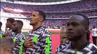 England vs Nigeria National Anthem (International Friendlies)