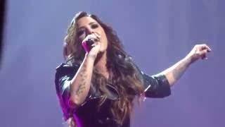 getlinkyoutube.com-Demi Lovato - Confident Live (Front Row) - Future Now Tour - 8/18/16 - San Jose, CA - [HD]