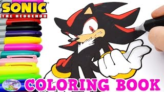 getlinkyoutube.com-Sonic The Hedgehog Coloring Book Shadow Episode Speed Coloring Surprise Egg and Toy Collector SETC