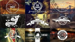 getlinkyoutube.com-Hipster Logo - Vintage Elements Collection [AE by MrGold on Videohive]
