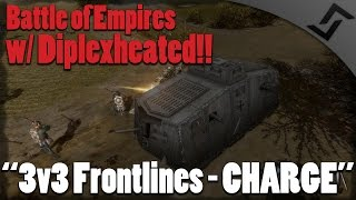 getlinkyoutube.com-Battle of Empires 1914-1918 - Russian 3v3 Frontlines w/ DiplexHeated!!