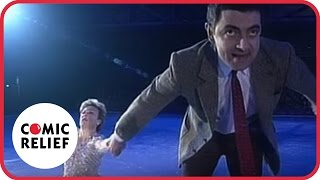 getlinkyoutube.com-Mr Bean in Torvill and Bean - Classic Comic Relief