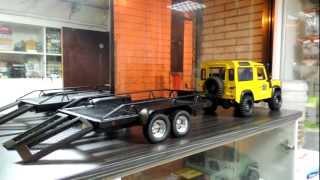 getlinkyoutube.com-RC4wd  BigDog 1/10 Dual Axle Scale Car/Truck Trailer