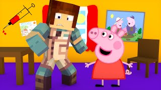 getlinkyoutube.com-Minecraft: CIRURGIA NA PEPPA PIG - ( Peppa Pig Minecraft)