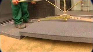 Tegels 100x100 Prijs : Megategels plaatsing op zandcementbed stabilisé wmv youtube