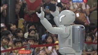 getlinkyoutube.com-Роботы в Японии / Robots in Japan