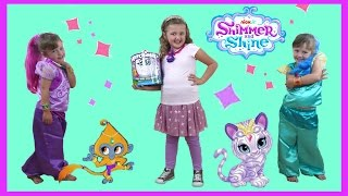 getlinkyoutube.com-NEW Shimmer and Shine Videos | Shimmer and Shine 3 Wishes | Toys and Dress up video