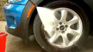 getlinkyoutube.com-طريقة تنظيف وتلميع الجنوط بسهولة - SONAX Wheel Cleaner full effect