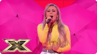 Molly Scott Belts Out BTS' Fake Love   Live Shows Week 1   The X Factor UK 2018