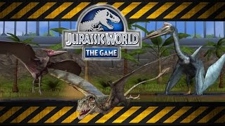 getlinkyoutube.com-Jurassic World Aviary: Pteranodon, Tapejara & Quetzalcoatlus