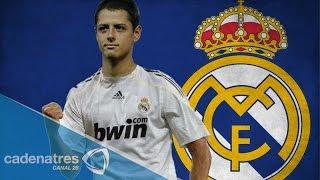 'Chicharito' cautiva en conferencia de prensa como nuevo refuerzo del Real Madrid