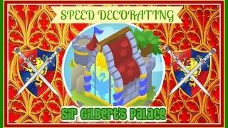 getlinkyoutube.com-Animal Jam: Speed Decorating Sir Gilbert's Palace!