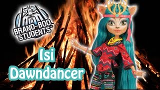 getlinkyoutube.com-Brand Boo Students Isi Dawndancer Monster High Doll Review