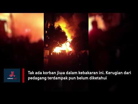 Kebakaran Tomang Hangusnya Pasar seluas 5000 meter