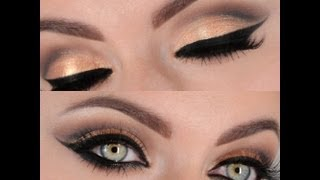 getlinkyoutube.com-Glam Evening Look Makeup Tutorial