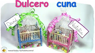 getlinkyoutube.com-manualidades dulcero cuna / crafts / DIY